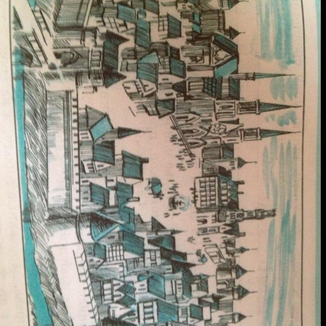 горлышко рассмотрите рисунок схему средневекового города составьте его описание по иллюстрации хьюкамбер пжалста