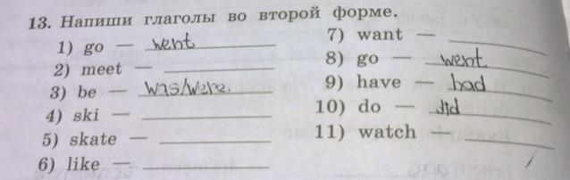 Причастие в английском языке
