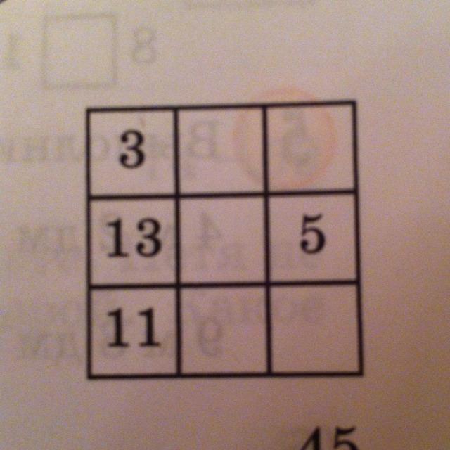 Как сделать магический квадрат