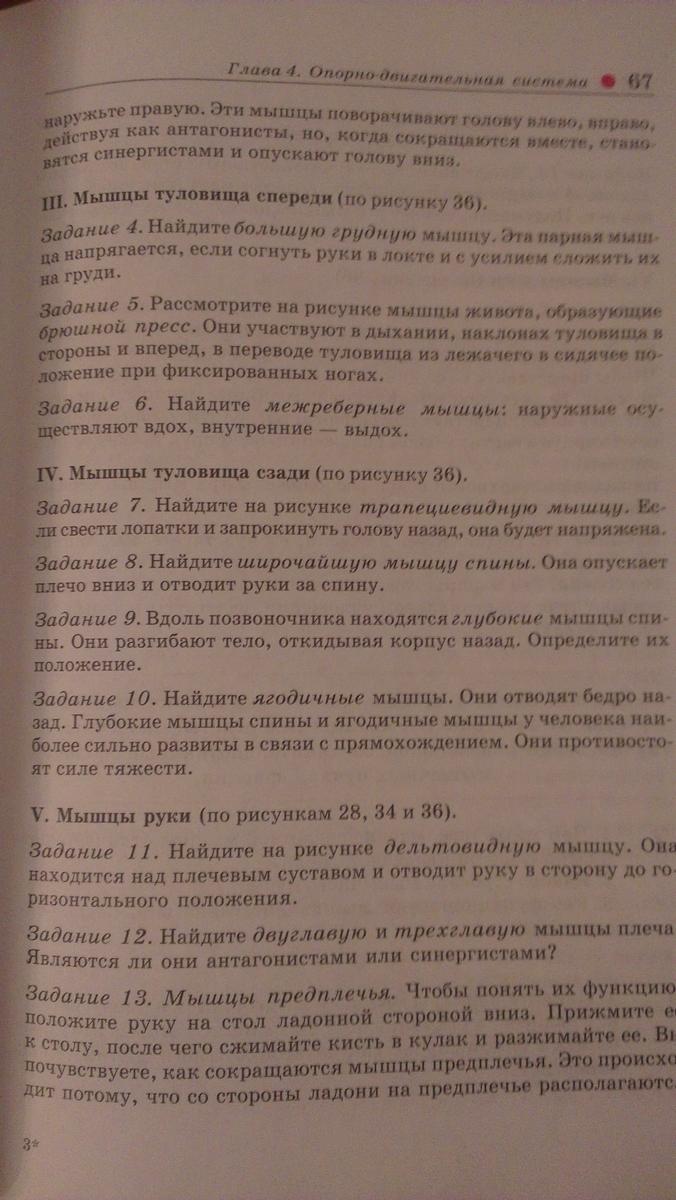 Ответы к рабочей тетради по биологии 8